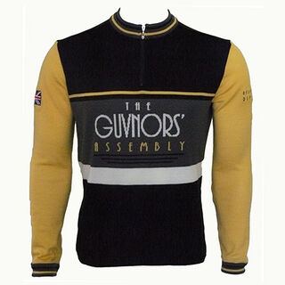 Guvnors Assembly Long Sleeve Merino Wool Cycling Jersey
