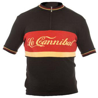 Le Cannibal Merino Wool Cycling Jersey