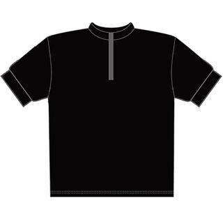 Plain merino wool cycling jersey in the colour of your choice