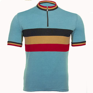 Belgium Merino Wool Cycling Jersey