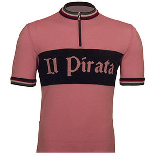 Il Pirata Merino Wool Cycling Jersey