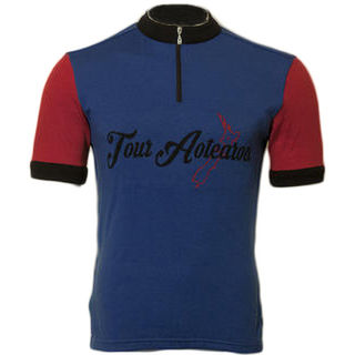 Tour Aotearoa Merino Wool Cycling Jersey - Original Colourway