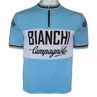 Bianchi Merino Wool Cycling Jersey