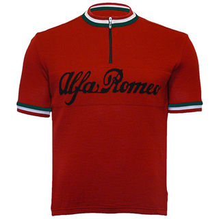 Alfa Romeo Merino Wool Cycling Jersey