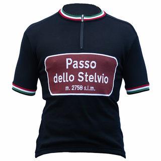 Passo dello Stelvio Merino Wool Cycling Jersey