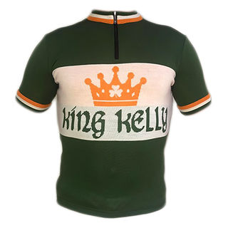 King Kelly Merino Wool Cycling Jersey