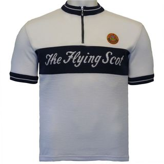 Flying Scot Merino Wool Cycling Jersey