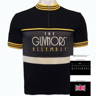 Guvnors Assembly Merino Merino Wool Cycling Jersey
