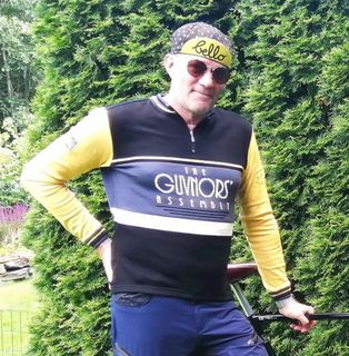 Guvnors Assembly merino cycling jersey
