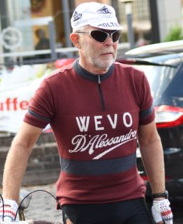 Wevo custom merino wool cycling jersey