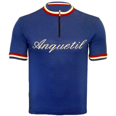 Anquetil Merino Wool Cycling Jersey