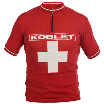 Koblet Suisse Merino Wool Cycling Jersey