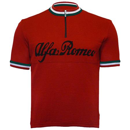 Alfa Romeo Merino Wool Cycling Jersey 1803c18a5
