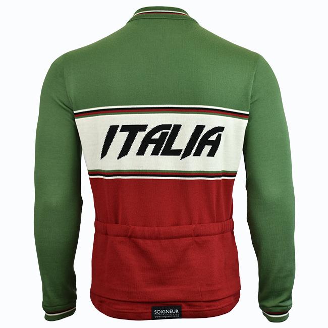 Cycle Italia Merino Wool Cycling Jersey