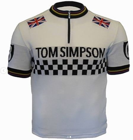 Tom Simpson Merino Wool Cycling Jersey