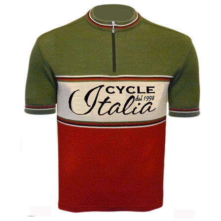 CycleItalia Merino Wool Cycling Jersey