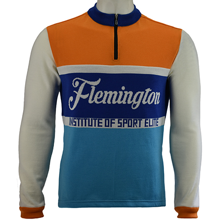 Flemington Front Cycling Jersey Design Ideas For Retro Cycling Jerseys In Merino Wool