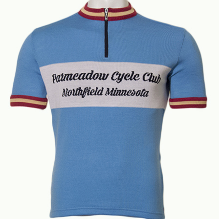 Parmeadow Cycling Club Eroica Cycling Jersey (front)
