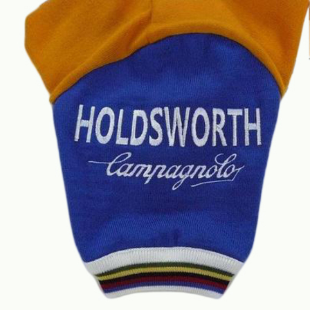 Holdsworth - Embroidered sleeve detail