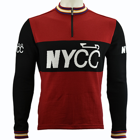 New York Cycle Club Merino Wool