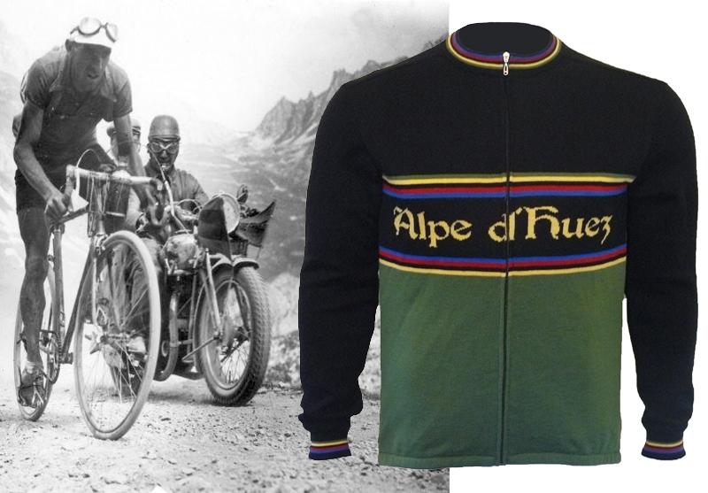 b87bfaf90 Alpe d Huez Merino Wool Cycling Jersey