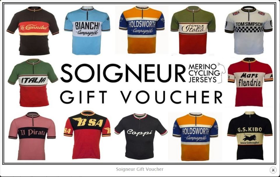 half off aedfa 11145 Gift Vouchers for Merino Cycling Jerseys, Retro Vintage ...